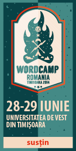 WordCamp Romania 2014 – Sustin